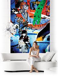 Vi har et stort udvalg af flotte fototapeter til enhver væg og rum